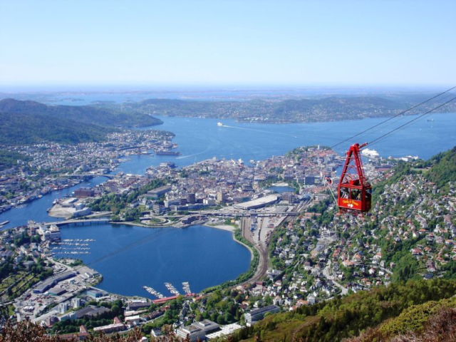 Bergen view Intertours Norway