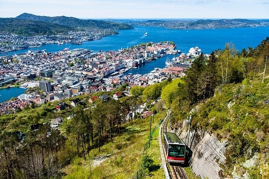 fløibanen Bergen Intertours Norway