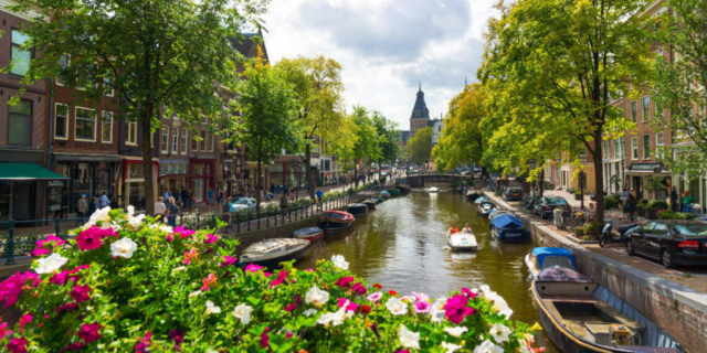 Amsterdam Spring time - Intertours Norway