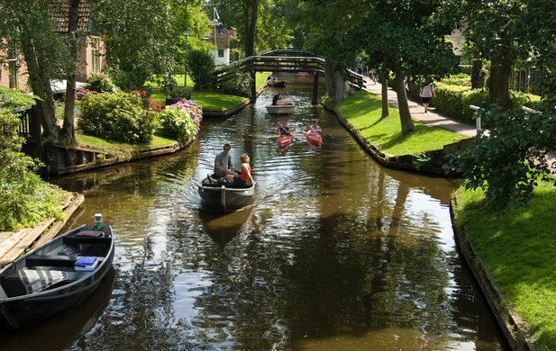 Giethoorn bussreise til Nederland - Intertours Norway